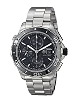 TAG Heuer Men's CAK2110.BA0833 Analog Display Automatic Self Wind Silver Watch