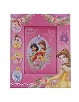 "Disney Paper Padded Photo Frame Princess Design 3, 4"" x 6"""
