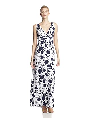 Tart Women's Belfort Maxi Dress (Navy/White)