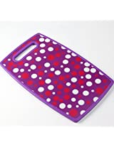 Attractive Vegetables / Fruits / Abstract Print Colour Chopping Cutting PVC Plastic Board to cut fruit, vegetable, Fish, Meat, Cheese, Pizza, Spices and Many More Foods, Size : 30 x 20 CM (Colours & Designs as per Availability)
