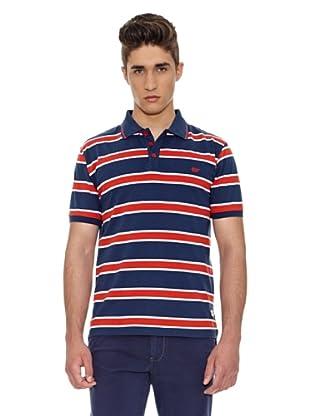 Carrera Jeans Polo Rayas (Azul)