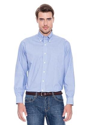 Brooks Brothers Camisa Vestir Owain (Azul / Blanco)