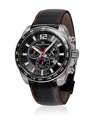 PHILIPPE VANDIER Uhr mit schweizer Quarzuhrwerk 77010  42 mm