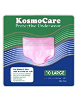 KosmoCare Disposable Protective Underwear- 10 Count (Medium)