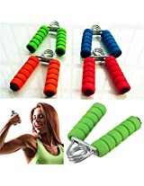 Hand Gripper Exercise Grips Soft Foam Strength Forearm Workout Wrist