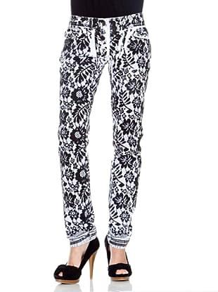 D&G Jeans Angie (Schwarz/Weiß)