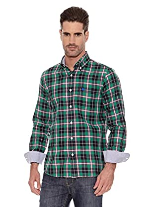 Toro Camisa Bolsillo Cuadros (Verde)