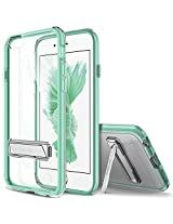 iPhone 6S Case, OBLIQ [Naked Shield][Mint][Metal Kickstand] Thin Slim Fit Crystal Clear Case + TPU Bumper Armor Scratch Resist Protection Hybrid case for Apple iPhone 6S (2015) & iPhone 6 (2014)