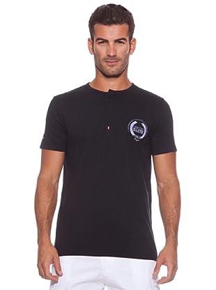 Ellesse Camiseta Stp Button (Negro)