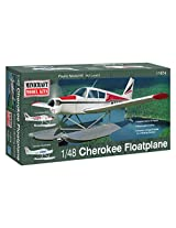 Minicraft Piper Cherokee Float Plane Airplane Model Kit (1/48 Scale)