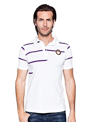 Giorgio Di Mare Polo Reece (Blanco / Púrpura)