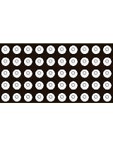 Desmond 50 x 13mm x 6.5mm Disc Bubble Spirit Level Round Circular Circle White / Tripod