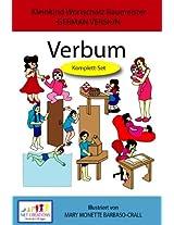 Verbum - KOMPLETT SET - GERMAN VERSION (Kleinkind Vokabeltrainer (TODDLER'S VOCABULARY BUILDER) Book 13)