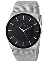Skagen Analog Black Dial Men's Watch - SKW6019
