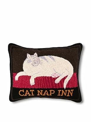 Warren Kimble Cat Nap Inn Hook Pillow