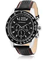 Victory-Black- P9275 Black / Black Analog Watch