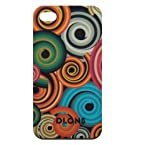 Dlons hard case cover for iPhone4 and iPhone 4s Spiral Wonder