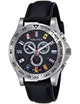 Nautica Sports Analog Black Dial Men's Watch - NTA19595G