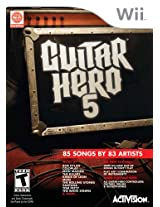Guitar Hero 5 - Nintendo Wii (Game only)