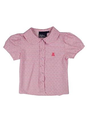 Metrokids Camisa Niña Campinas (Rosa)