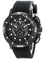 Swiss Legend Men's 10538S-BB-01 Scubador Analog Display Swiss Quartz Black Watch