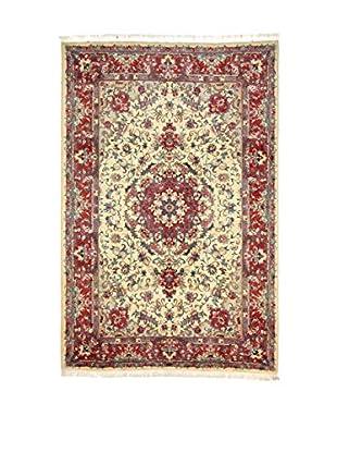 Eden Teppich N.Tabriz rot/elfenbein 197 x 297 cm