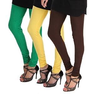 Deals villa Women's Legging-3 Combo Pack
