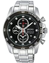 Seiko Designer Analog Black Dial Men's Watch - SNAE69P1