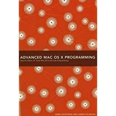Advanced MAC OS X Programming