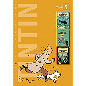 Adventures of Tintin - Vol. 5: Red Rackham's Treasure, The Seven Crystal Balls & Prisoners of the Sun (The Adventures of Tintin - Compact Editions)