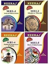 IGNOU MA History First Year Help Books Combo-MHI1 | MHI2 | MHI4 | MHI5 in English Medium