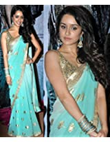 Shraddha Kapoor Bollywood Saree, Designer Saree, Facny Saree