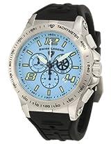 Swiss Legend Men's 10040-012 Sprint Racer Chronograph Light Blue Dial Watch