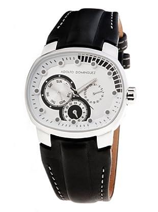 Adolfo Dominguez Watches 70056 - Reloj Unisex cuarzo correa piel dial Blanco
