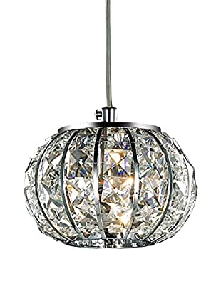 Evergreen Lights Pendelleuchte Calypso SP1 silberfarben