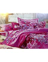 MELODY GIFT BOX PACKING BEDSHEET WITH PILLOW COVERS,DIWALI GIFT BEDSHEET,PINK FLORAL BEDSHEETS