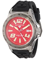 "Swiss Legend Men's 10043-GM-05 ""Sprint Racer"" Stainless Steel Watch with Black Strap"