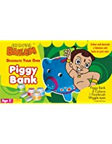 Chhota Bheem Piggy Bank, Multi Color