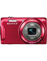 16MP FINEPIX T550 RED