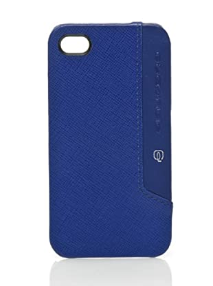 Piquadro Custodia iPhone 4/4S (Blu)