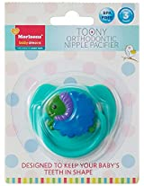 Baby Dreams Toony Orthodontic Pacifier (Green)