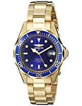 Invicta Watches, Men's Pro Diver 23kt Goldplated, Model 8937