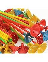 Party-Anthem Balloon Stick & Base (pack of 10 sticks)