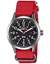 Timex Expedition Scout Analog Black Dial Men's Watch - TW4B045006S