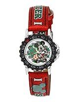 Disney Analog Multi-Color Dial Children's Watch - 3K1552U-MK-016RD
