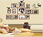Uberlyfe Family Collage Photo Frame Pictures Wall Sticker