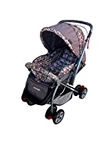 Luvlap Baby Stroller Pram Starshine Grey