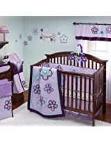 Harmony 9 Piece Baby Crib Bedding Set with Bumper by Nojo