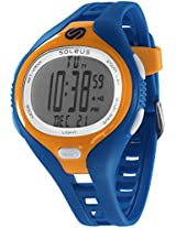 Soleus digital Dash Large Blue Men's sports watch - SR018-454