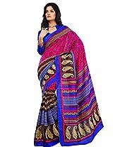 Riti Riwaz Silk Saree (Ss5617 -Pink)